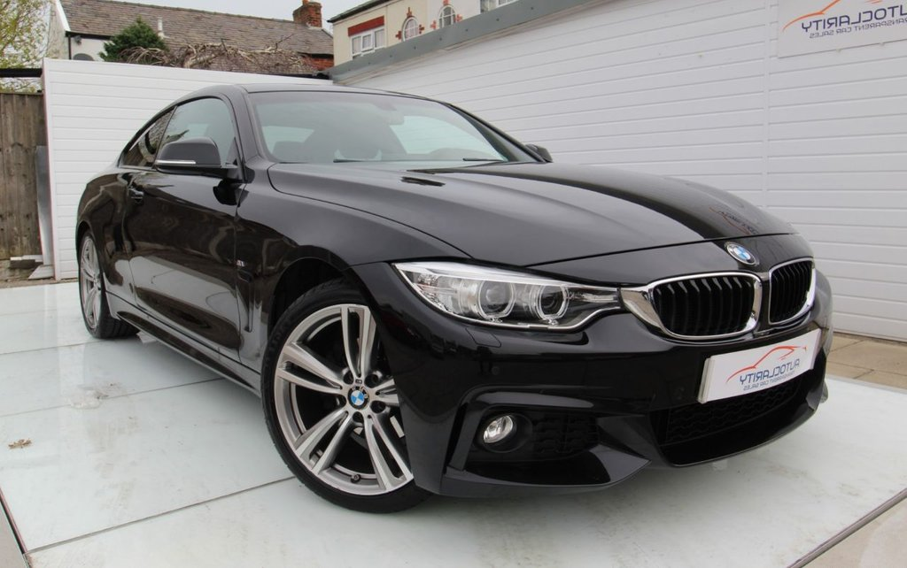 """USED 2014 64 BMW 4 SERIES 2.0 420D M SPORT 2d 181 BHP 19"""" Alloys - 2 Keys - FBMWSH"""