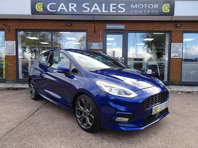 USED 2017 67 FORD FIESTA 1.0 ST-LINE 3d 138 BHP SAT NAV, APPLE CAR PLAY, DAB RADIO, BLUETOOTH, CRUISE CONTROL, 5 STAR RATED DEALERSHIP - BUY WITH CONFIDENCE
