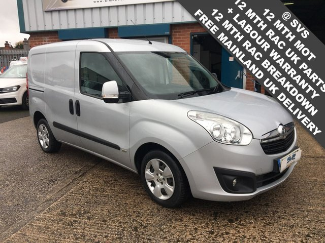USED 2015 15 VAUXHALL COMBO SPORTIVE L1H1 CDTI S/S  90BHP VERY CLEAN CHOICE OF IN STOCK
