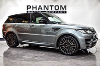 USED 2015 15 LAND ROVER RANGE ROVER SPORT 4.4 AUTOBIOGRAPHY DYNAMIC 5d 339 BHP