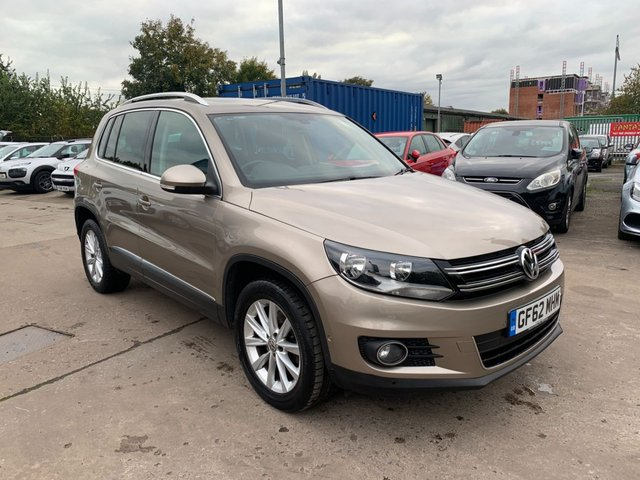 USED 2012 62 VOLKSWAGEN TIGUAN 2.0 SE TDI BLUEMOTION TECHNOLOGY 5d 138 BHP SERVICE HISTORY