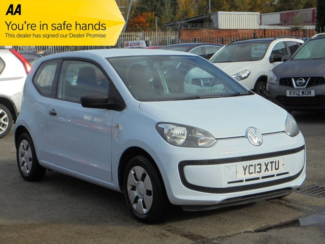 USED 2013 13 VOLKSWAGEN UP 1.0 TAKE UP 3d 59 BHP
