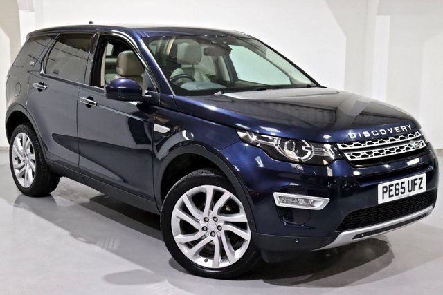 2015 65 LAND ROVER DISCOVERY SPORT 2.2 SD4 HSE LUXURY 5d 190 BHP