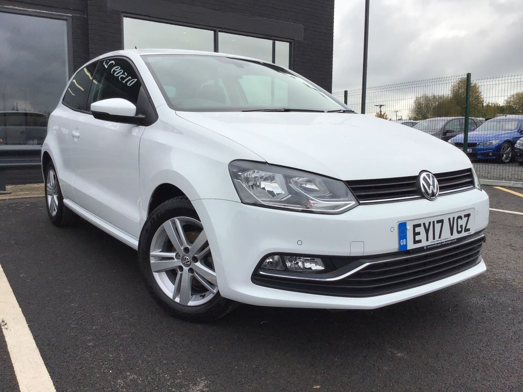 USED 2017 17 VOLKSWAGEN POLO 1.0 MATCH EDITION 3d 60 BHP Low Mileage,Finance Available