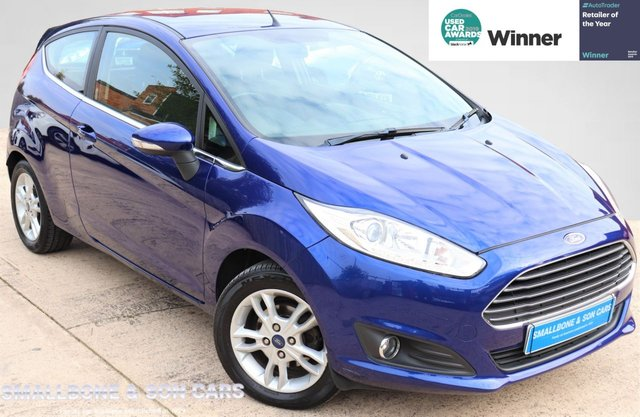 USED 2016 66 FORD FIESTA 1.2 ZETEC 3d 81 BHP * BUY ONLINE * CONTACTLESS PURCHASE AVAILABLE *