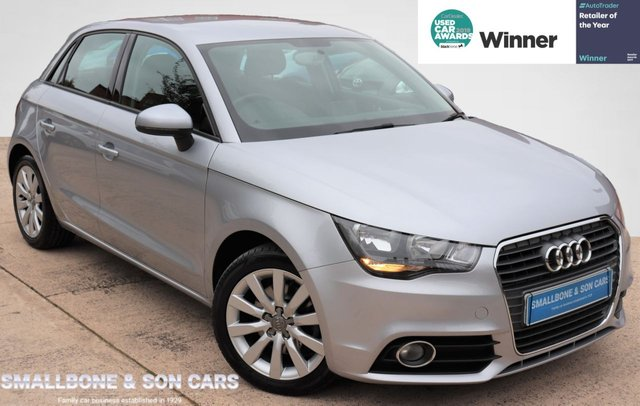 USED 2014 14 AUDI A1 1.4 SPORTBACK TFSI SPORT 5d 122 BHP * BUY ONLINE * CONTACTLESS PURCHASE AVAILABLE *