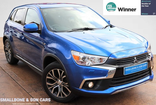 USED 2017 17 MITSUBISHI ASX 1.6 3 5d 115 BHP * BUY ONLINE * CONTACTLESS PURCHASE AVAILABLE *