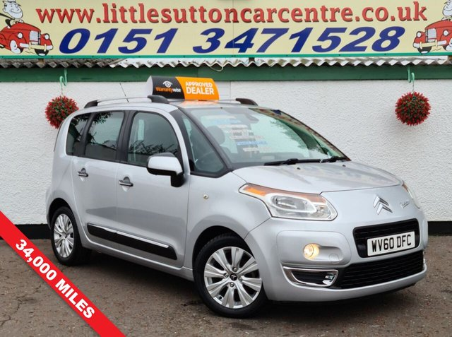 USED 2010 60 CITROEN C3 PICASSO 1.6 PICASSO EXCLUSIVE HDI 5d 90 BHP ONE OWNER, FULL SERVICE HISTORY, LOW MILEAGE, DIESEL