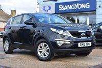 USED 2013 13 KIA SPORTAGE 1.6 1 5d 133 BHP FINANCE FROM £125 PER MONTH £0 DEPOSIT