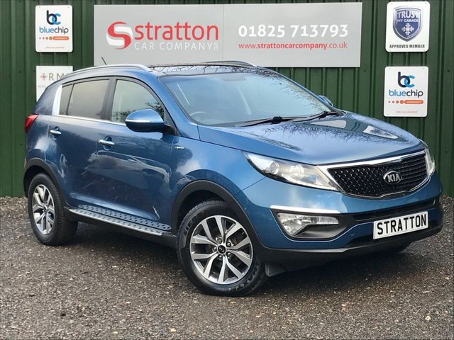 USED 2014 64 KIA SPORTAGE 2.0 CRDI KX-2 5d 134 BHP  FULL LEATHER