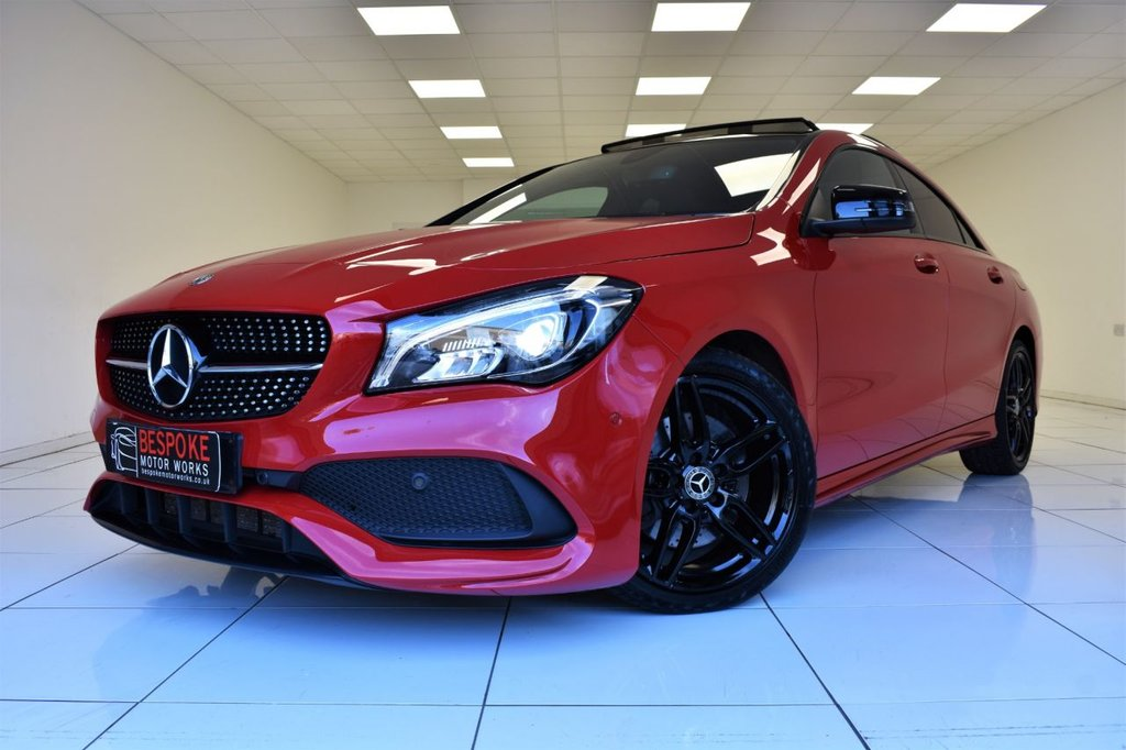 USED 2017 17 MERCEDES-BENZ CLA CLA 220D 2.1 AMG LINE