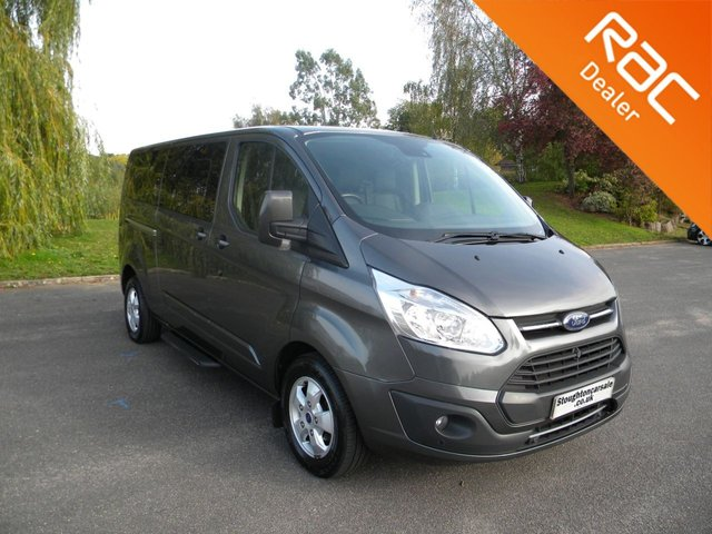 USED 2017 17 FORD TOURNEO CUSTOM 2.0 310 TITANIUM TDCI 5d 129 BHP CAMPER CONVERSION BY APPOINTMENT ONLY -  New Day Campervan Conversion, DAB, Leather Heated Front Seats
