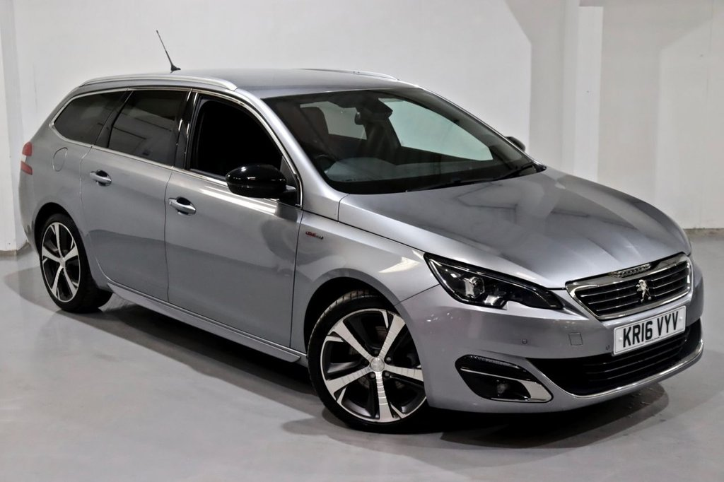 USED 2016 16 PEUGEOT 308 2.0 BLUE HDI S/S SW GT LINE 5d 150 BHP