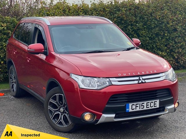 USED 2015 15 MITSUBISHI OUTLANDER 2.3 DI-D GX 3 5d 147 BHP BLUETOOTH CONNECTIVITY