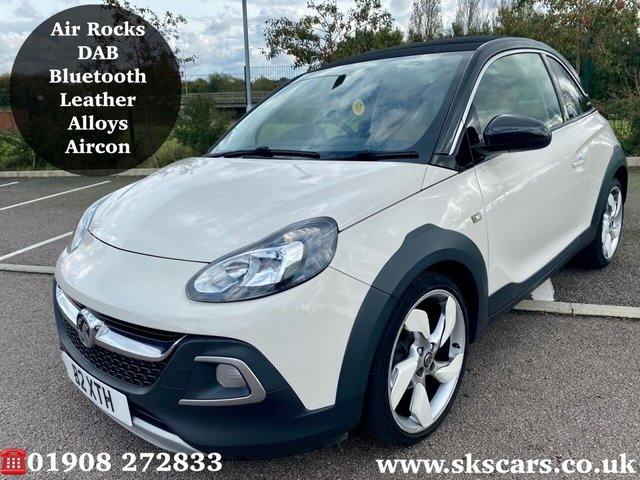 2014 64 VAUXHALL ADAM 1.4 ROCKS AIR 3d 85 BHP