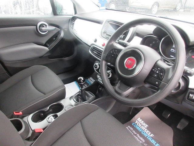USED 2016 66 FIAT 500X 1.6 POP 5d 110 BHP **CLICK AND COLLECT ON YOUR NEXT CAR**