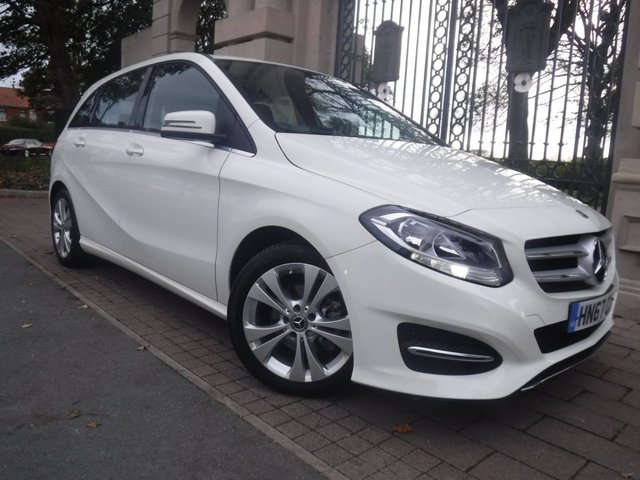 USED 2018 67 MERCEDES-BENZ B-CLASS 1.6 B 180 SPORT 5d 121 BHP *ONLY 1000 MILES*1 OWNER FROM NEW*FULL LEATHER SEATS* SAT NAV*REVSERING CAMERA*