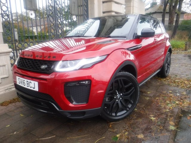 USED 2016 16 LAND ROVER RANGE ROVER EVOQUE 2.0 TD4 HSE DYNAMIC 5d 177 BHP 1OWNER*PAN ROOF*LEATHER*NAV*CRUISE*LANE KEEP*CAMERA*4X4
