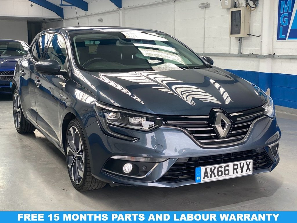USED 2016 66 RENAULT MEGANE 1.5 SIGNATURE NAV DCI 5d 110 BHP *FULL RENAULT SERVICE HISTORY*1 OWNER*