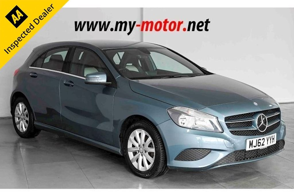 USED 2012 62 MERCEDES-BENZ A-CLASS 1.5 A180 CDI BLUEEFFICIENCY SE 5d 109 BHP NATIONAL DELIVERY AVAILABLE