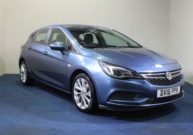 USED 2016 16 VAUXHALL ASTRA 1.6 TECH LINE CDTI S/S 5d 134 BHP