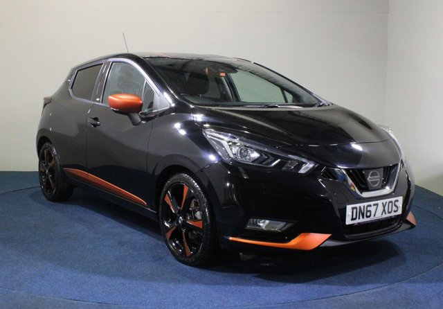 USED 2017 67 NISSAN MICRA 0.9 IG-T BOSE PERSONAL EDITION 5d 89 BHP
