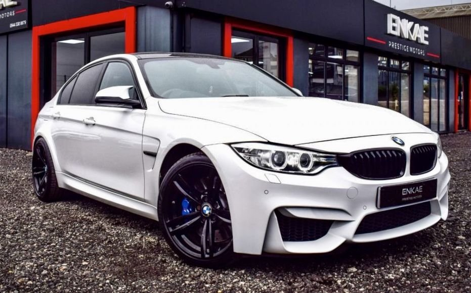 USED 2014 M BMW M3 3.0 M3 4d 426 BHP