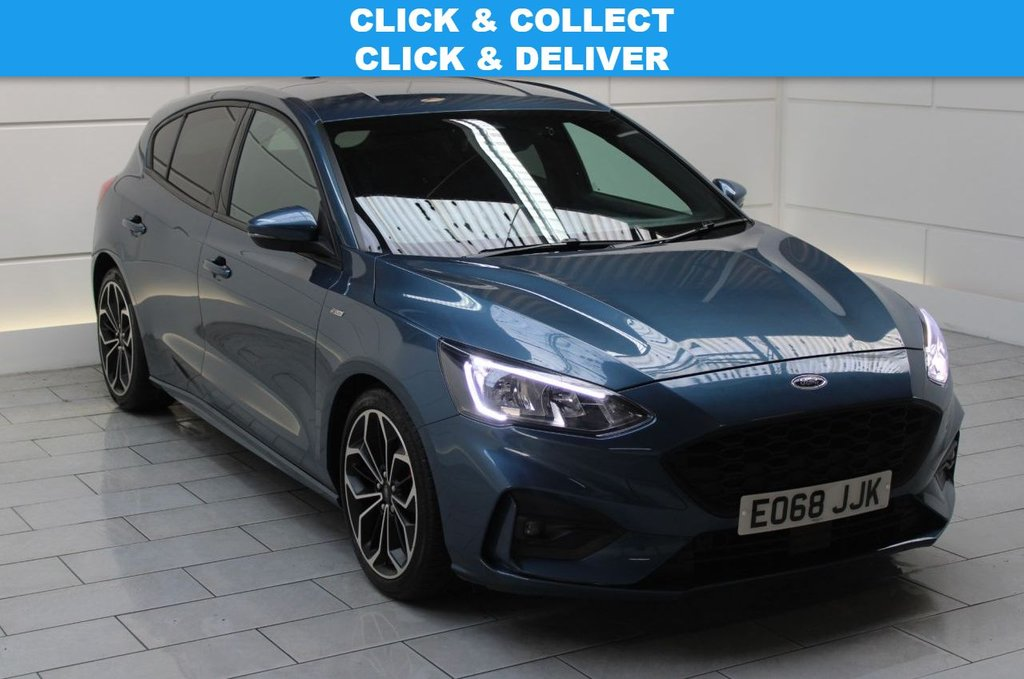 USED 2018 68 FORD FOCUS 1.5 EcoBlue ST-Line X Auto (start/stop) HATCHBACK