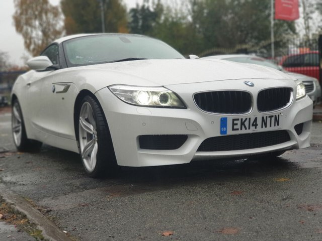 USED 2014 14 BMW Z4 2.0 Z4 SDRIVE20I M SPORT ROADSTER 2d 181 BHP WILL COME WITH 12 MONTHS MOT-2 OWNERS+2 KEYS+FULL SERVICE HISTORY+ALLOY WHEELS+CLIMATE CONTROL+ELECTRIC WINDOWS+CRUISE CONTROL+HEATED SEATS+LEATHER SEATS+POWER HOOD+MEDIA+USB+AUX+BLUE+