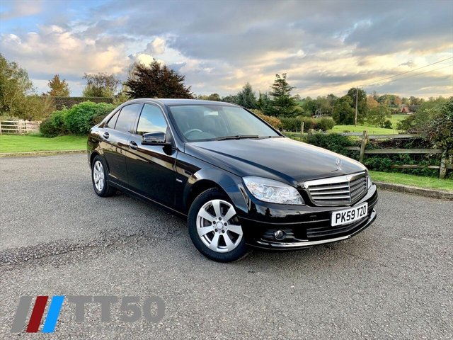 2009 59 MERCEDES-BENZ C-CLASS 1.6 C180 KOMPRESSOR BLUEEFFICIENCY SE 4d 156 BHP