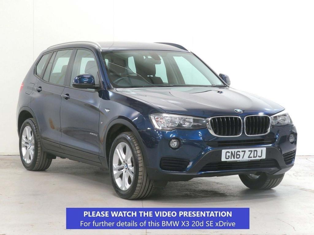 USED 2017 67 BMW X3 2.0 20d SE xDrive 5dr £3,795 EXTRA*CAMERA*KEYLESS*18