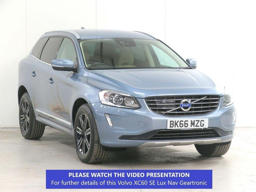 USED 2016 66 VOLVO XC60 2.0 D4 SE Lux Nav Geartronic (s/s) 5dr ADAPTIVE-CRUISE*CHILDSEATS*FSH