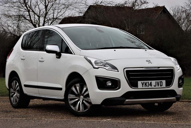 USED 2014 14 PEUGEOT 3008 1.6 VTi Access 5dr Low mileage LOW COST MOTORING