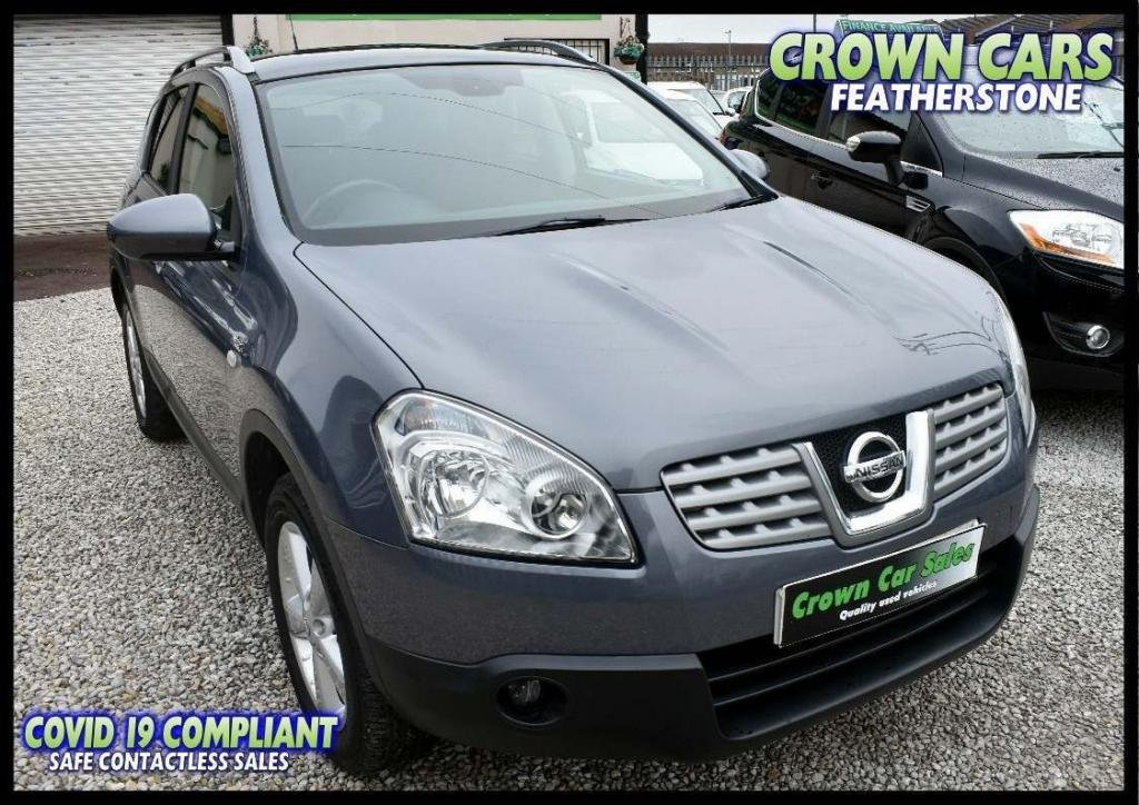 USED 2009 59 NISSAN QASHQAI 1.6 n-tec 2WD 5dr AMAZING LOW RATE FINANCE DEALS
