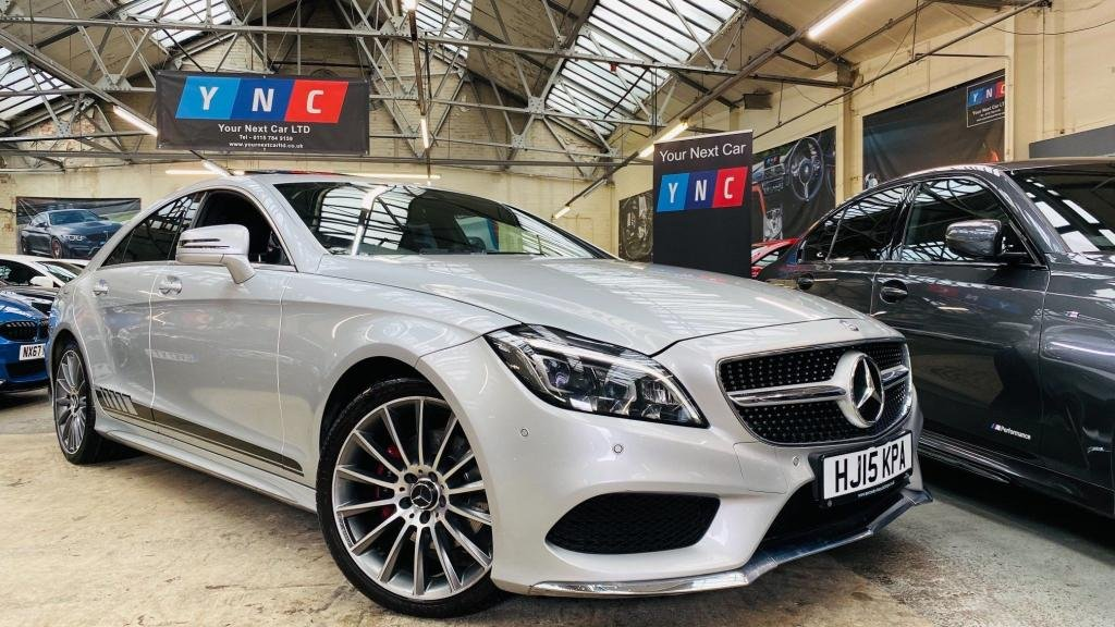 USED 2015 15 MERCEDES-BENZ CLS CLASS 2.1 CLS220 CDi BlueTEC AMG Line G-Tronic+ (s/s) 4dr SUNROOF+19S+REVCAM