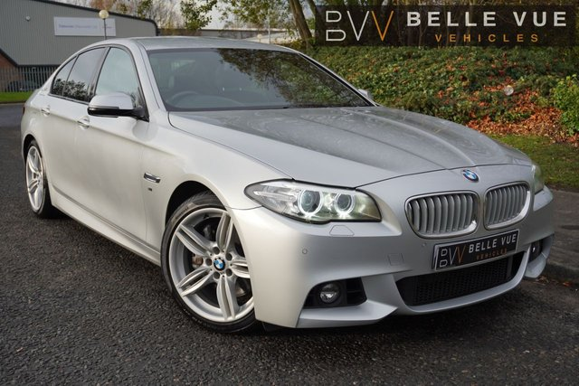 USED 2014 63 BMW 5 SERIES 3.0 ACTIVEHYBRID 5 M SPORT 4d 302 BHP - FREE DELIVERY* *GREAT SPEC, FANTASTIC PERFORMANCE, RARE HYBRID 5 SERIES!*