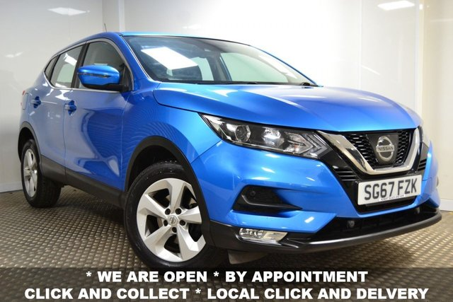 USED 2017 67 NISSAN QASHQAI 1.2 ACENTA DIG-T SMART VISION PACK 5d 113 BHP *JANUARY SALE NOW ON*
