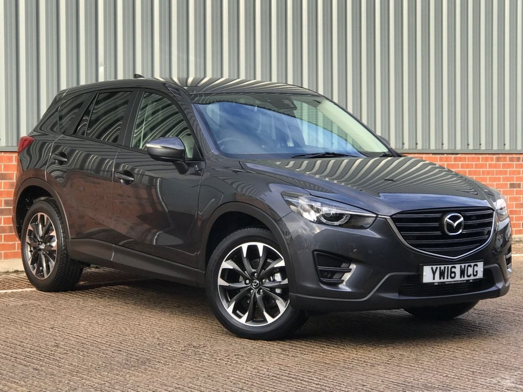USED 2016 16 MAZDA CX-5 2.2 D SPORT NAV 5d 173 BHP AWD EXCELLENT CONDITION AND FANTASTIC VALUE 4X4