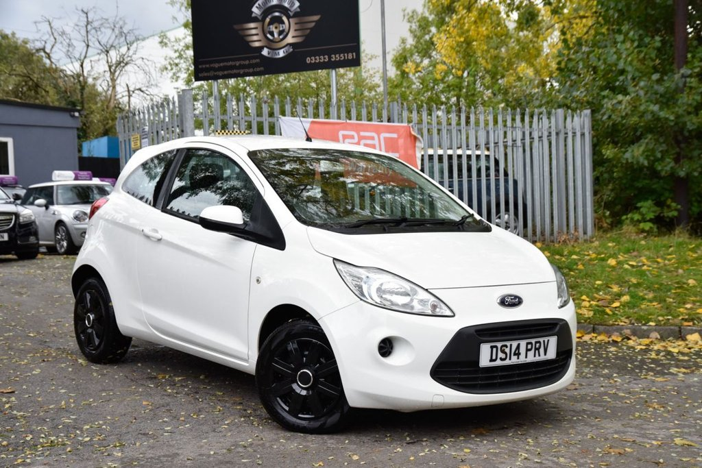 USED 2014 14 FORD KA 1.2 EDGE 3d 69 BHP