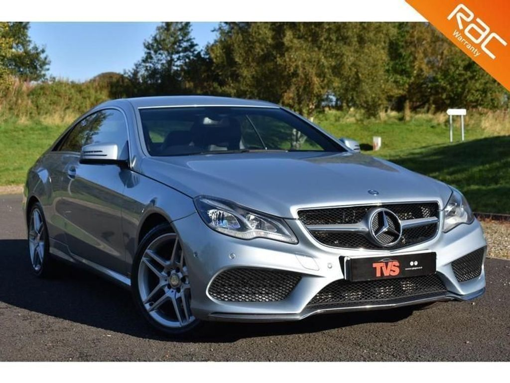 USED 2013 G MERCEDES-BENZ E-CLASS 2.1 E250 CDI AMG SPORT 2d 204 BHP JUST SERVICED!!! 1 YEAR MOT