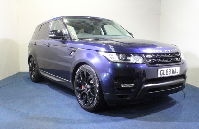 USED 2013 63 LAND ROVER RANGE ROVER SPORT 5.0 V8 AUTOBIOGRAPHY DYNAMIC 5d 510 BHP