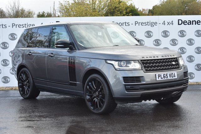 2015 65 LAND ROVER RANGE ROVER 4.4 SDV8 VOGUE SE 5d 339 BHP BLACK DESIGN PACK 22IN ALLOYS