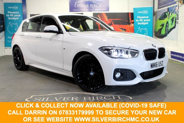 USED 2016 16 BMW 1 SERIES 2.0 120D M SPORT 5d 188 BHP 1 Owner, Full BMW History