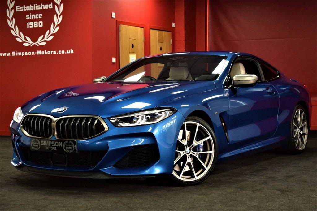 USED 2018 68 BMW 8 SERIES 4.4 M850I XDRIVE 2d 523 BHP