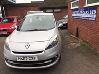 2012 RENAULT GRAND SCENIC 1.5 DYNAMIQUE TOMTOM DCI 5d 110 BHP £4890.00