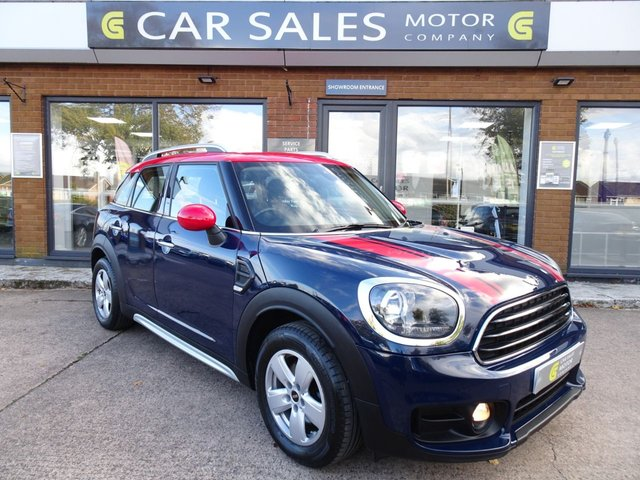 USED 2017 67 MINI COUNTRYMAN 1.5 COOPER 5d 134 BHP ONE OWNER FROM NEW, JUST SERVICED, MOT TILL OCTOBER 2021, SAT NAV, DAB RADIO, BLUETOOTH, SIX SPEED GEARBOX, REVERSE PARKING SENSORS, HPI CLEAR