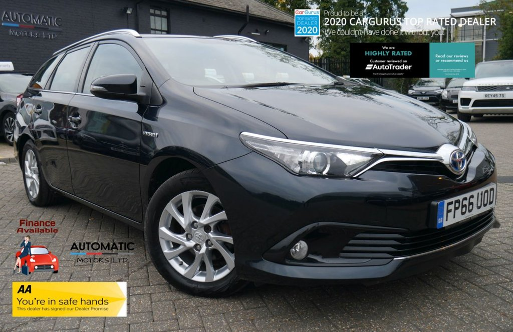 USED 2016 66 TOYOTA AURIS 1.8 VVT-I ICON TOURING SPORTS 5d 99 BHP 2016 TOYOTA AURIS 1 OWNER FRESH MOT USB/AUX, PARKING SESNORS, BLUETOOTH.