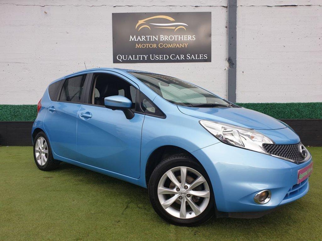 USED 2014 64 NISSAN NOTE 1.2 TEKNA DIG-S 5d 98 BHP