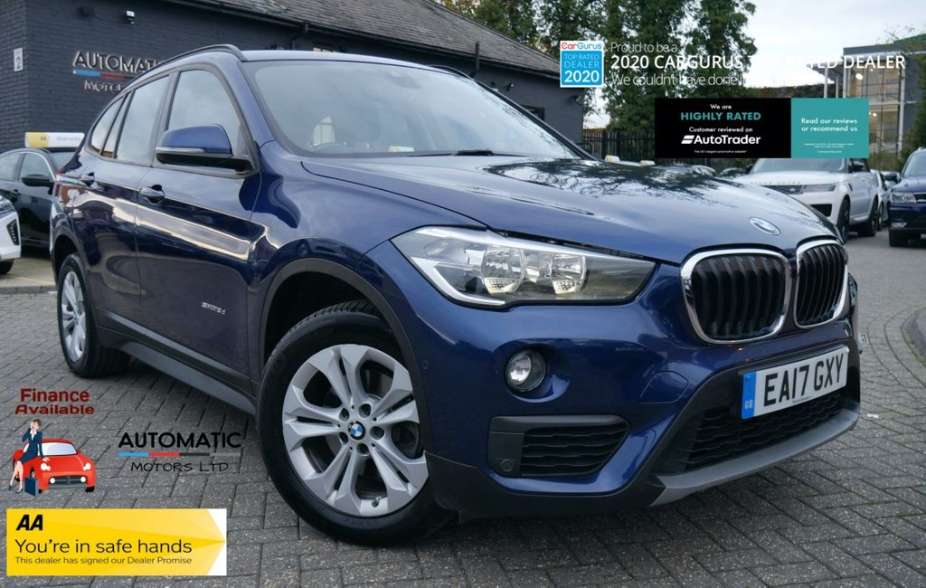 USED 2017 17 BMW X1 2.0 SDRIVE18D SE 5d 148 BHP 2017 BMW X1 2.0 SDRIVE18D SE 5d 1 OWNER ULEZ NAVIGATION BLUETO