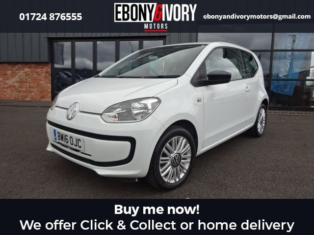 USED 2016 16 VOLKSWAGEN UP 1.0 LOOK UP 3d 59 BHP IDEAL FIRST CAR+ FULL SERVICE HISTORY + 1 YEAR MOT AND BREAKDOWN COVER